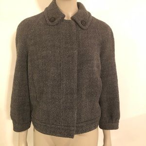 J.  Crew Cropped Tweed Jacket Women's Size 4